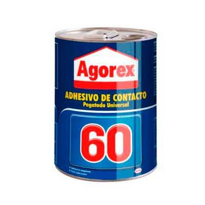 Adhesivo de Contacto Agorex 60 Lata 18 Litros
