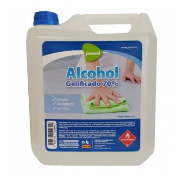 Alcohol Gel  5 LT 70gdo Hipoalergénico