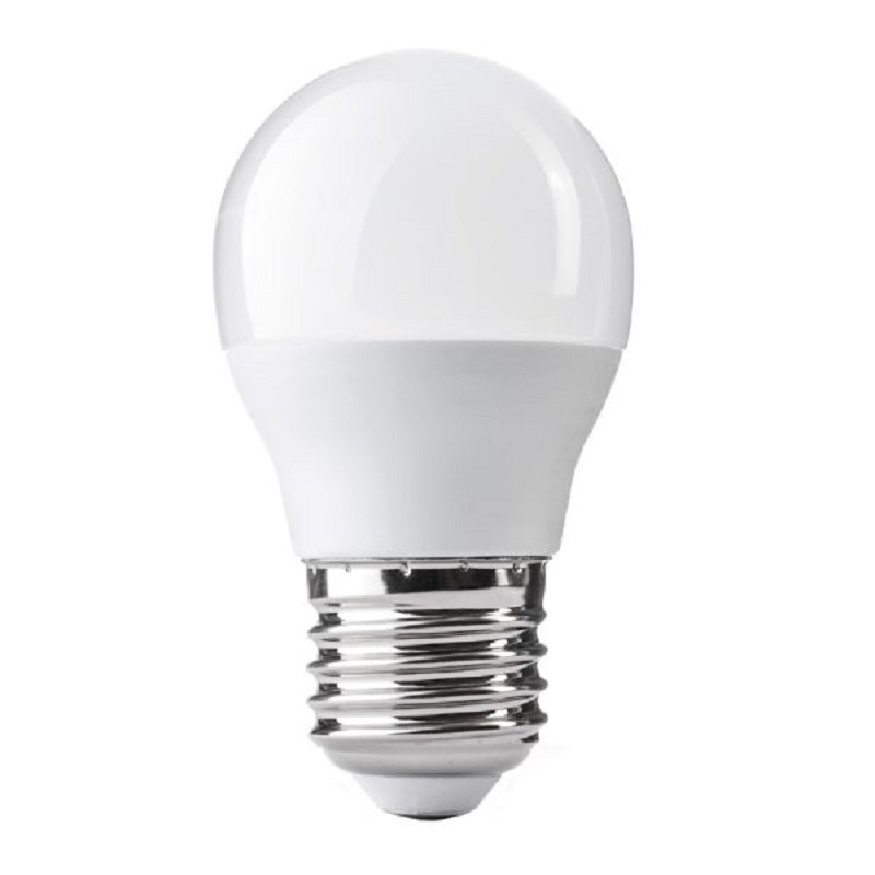 Ampolleta Led Bola G45 5W 3000K E27