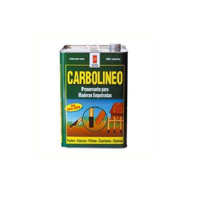 Carbolineum Negro 17 Lts. Lata