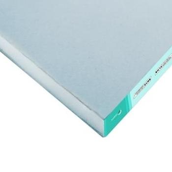 Cartón Yeso Resistente a la Humedad 12.5mm 1.20x2.40mt