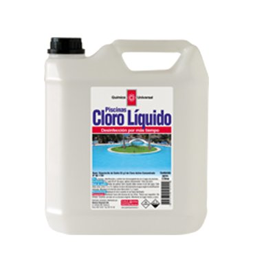 Cloro piscina líquido bidón 5 LT.