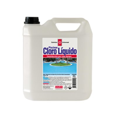Cloro piscina líquido bidón 10 LT.
