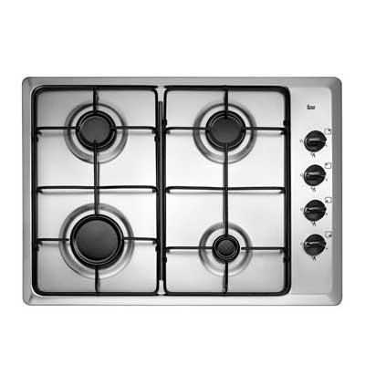 Cocina Encimera 4 quemadores HLX-50 4G Acero Inoxidable