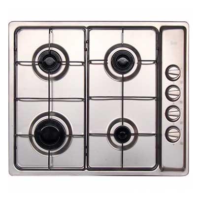Cocina Encimera 4 quemadores EP-60 4G Acero Inoxidable