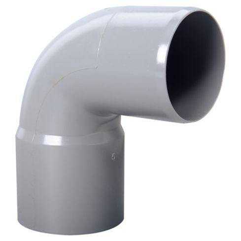 Codo Sanitario Gris 50x90mm