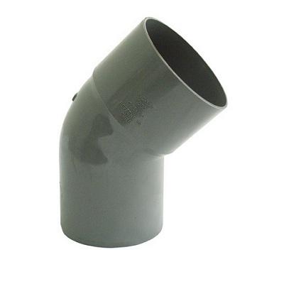 Codo Sanitario Gris 110x45mm