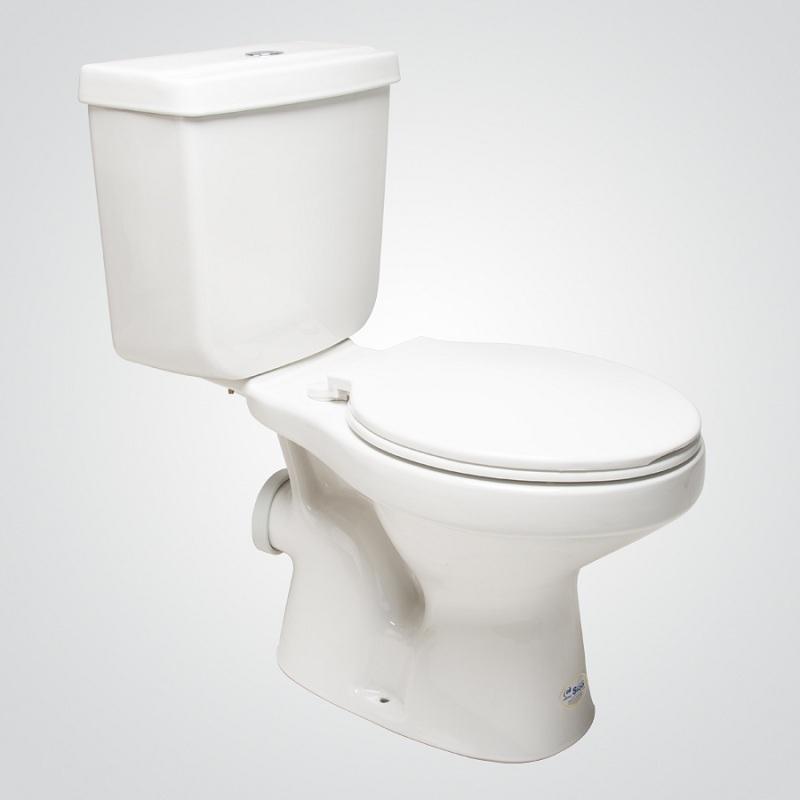Conjunto WC Valencia Premium al Muro Blanco