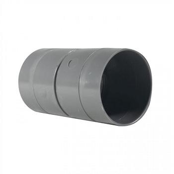 Copla PVC Sanitario Gris 110mm