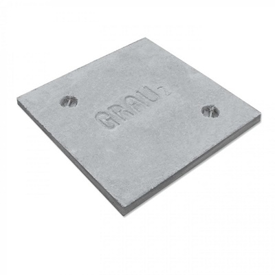 Cubierta de cemento 60X60 cm reforzado
