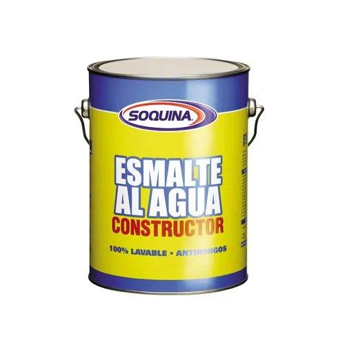 Esmalte al Agua Constructor 1 gl Rojo Colonial