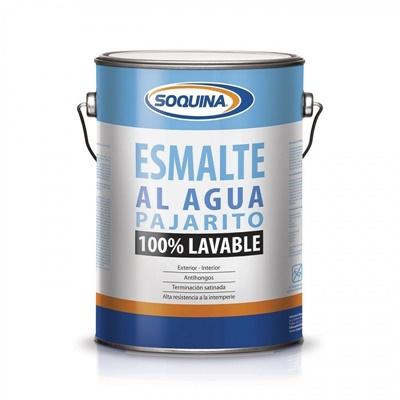 Esmalte Agua Satinado para Interior y Exterior 1GL Blanco
