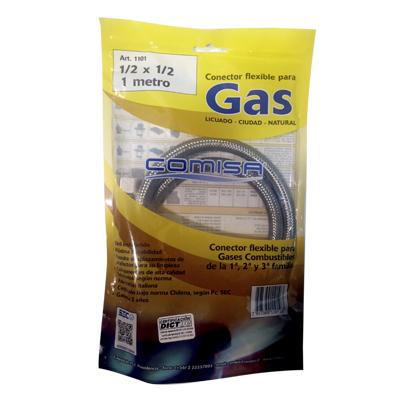 Flexible Gas HI HI 1/2X1/2 100cm