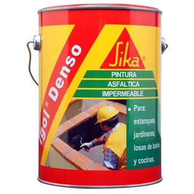 Pintura Asfáltica Impermeable Igol Denso Tarro 3 Litros