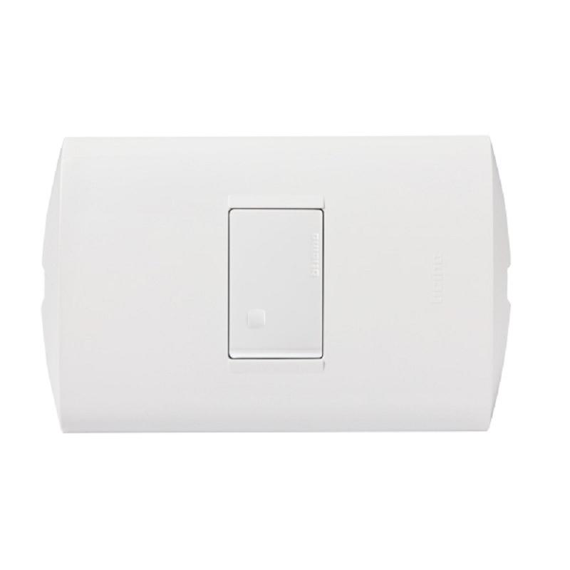 Interruptor 9/12 10A 250V STYLE Blanco