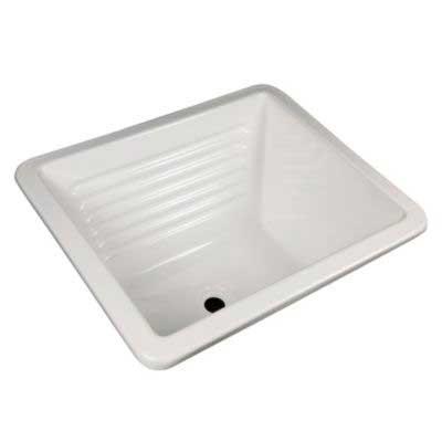 Lavarropa Plástico Grande 58x73cm Blanco