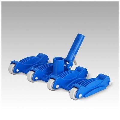 """Barrefondo flexible 8 ruedas conexión a manguera de 1 1/2"""""""