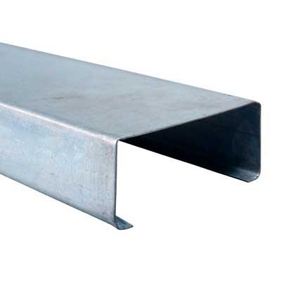 Metalcon C perforado 90x38x12x0.85 Tira 6.0mt 4014