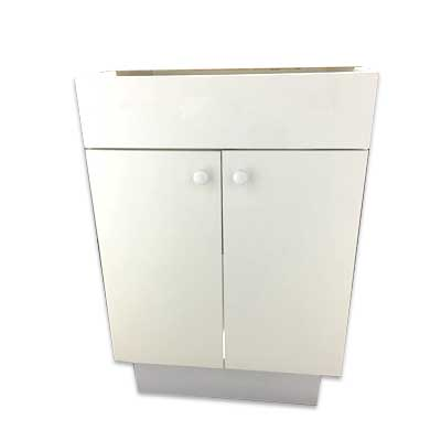 Mueble para Lavarropa de melamina blanca 15mm 58x58cm