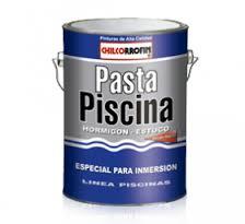 Pasta para Piscina 7kg Gris Agua