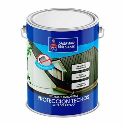 Pintura Protección Techos 1GL Gris Verdoso