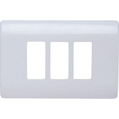 Placa Genesis 3 molulos Blanco