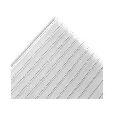 Plancha Policarbonato Alveolar Clear 10mm 2.10x5.80 metros