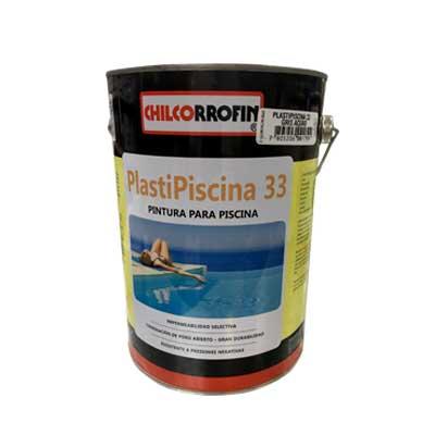 Pintura para Piscina Plasti Piscina 33 Base Solvente 1 GL Gris Acero
