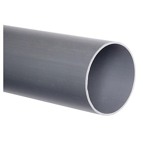 Tubo Sanitario Gris 110 mm Tira 6mt