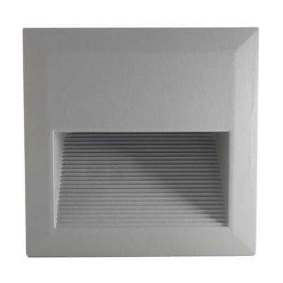 Foco LED Embutida Muro Cuadrada