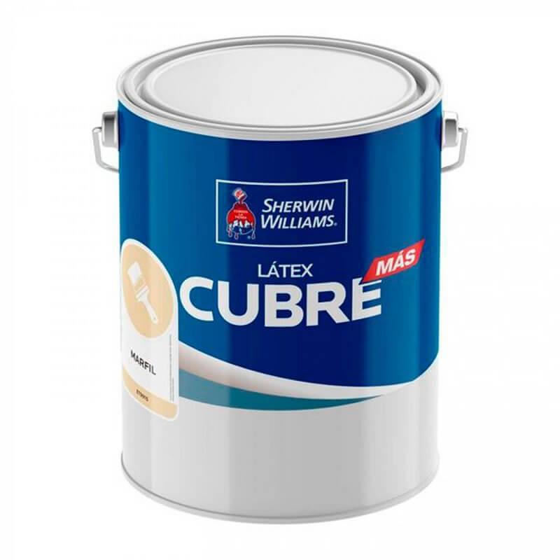 Latex Cubre Mas 1 Gl Marfil