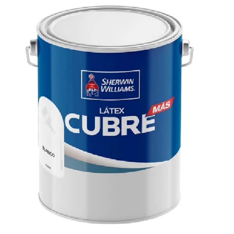 Latex Cubre Mas 1 Gl Blanco