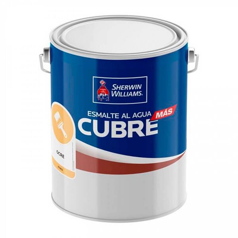 Esmalte Agua Cubre Mas 1 Gl Ocre