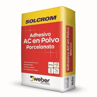 Adhesivo en polvo para Cerámica saco 24,5 Kilos A-C